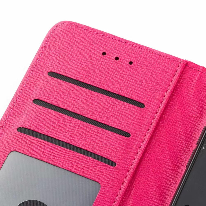 New Purse Style Y-SL Protective iPhone Case - Pink (Various Models)