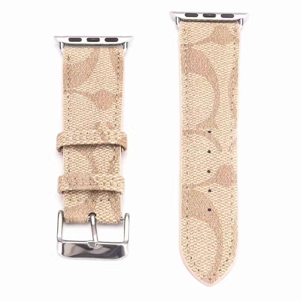 Designer Gold Coach Apple Watch Band