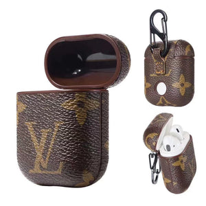 Brown Monogram AirPods Leathers Case - Apple Specific
