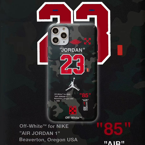 Jumpman 23 Camo Protective Apple Iphone Case