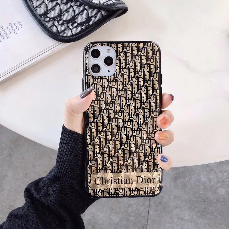 Gold Glossy Protective Apple Iphone Case