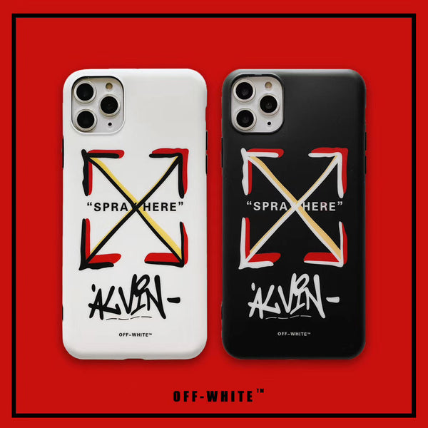 BIg X Off White Protective Apple Iphone Case