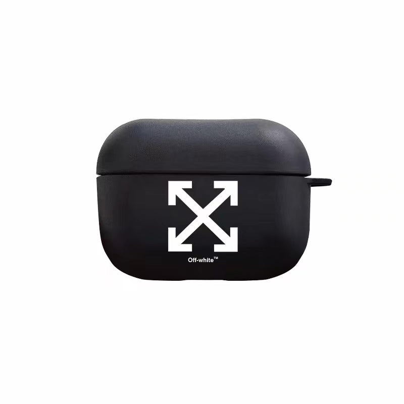 Off X Protective Apple Airpods Pro Soft TPU Case - Black