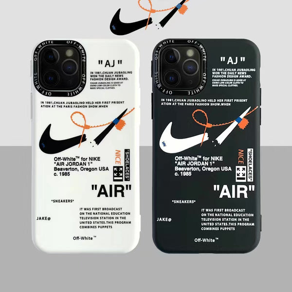 Air Off Nike V2 Protective Apple Iphone Case