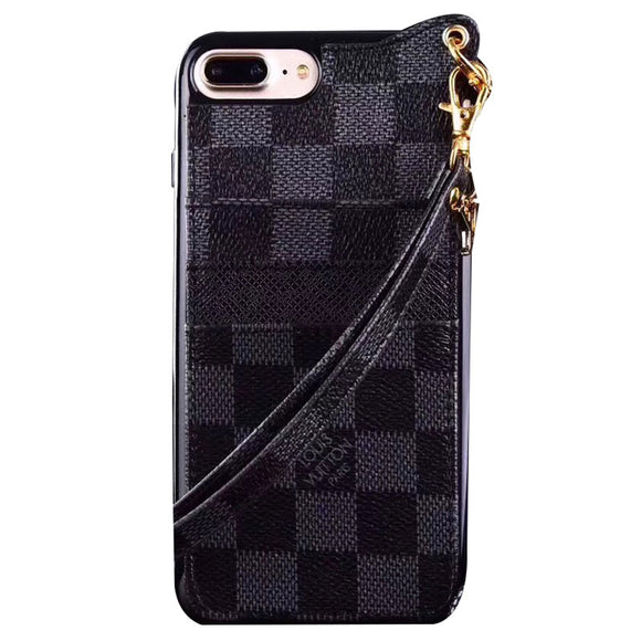 PLAID MONOGRAM X BLACK