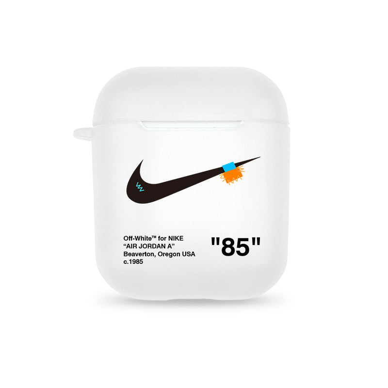Nike X Off White Protective Apple Airpods Case Elevatedcases
