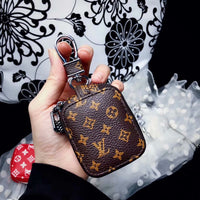 Brown Mini LV Monogram Airpods Pouch