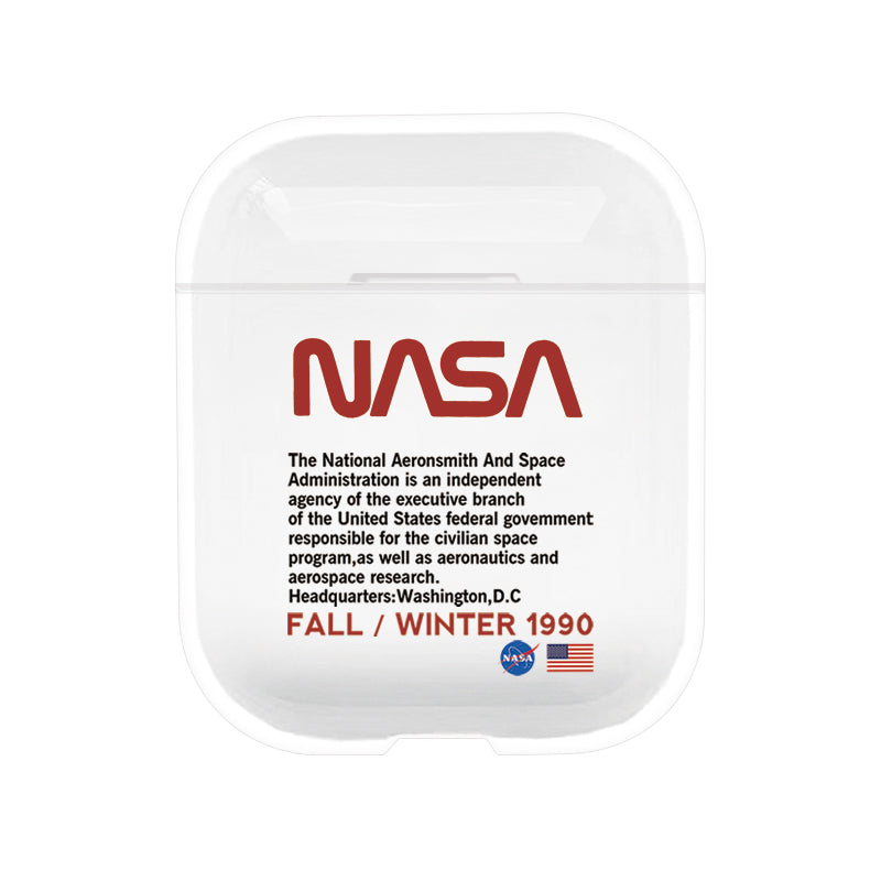 NASA Protective Tpu Apple Airpod Case - Clear – ELEVATEDCASES