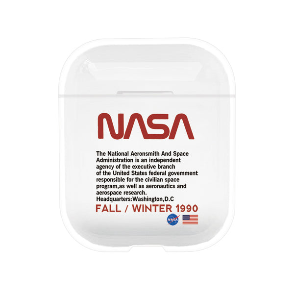 NASA Protective Tpu Apple Airpod Case - Clear