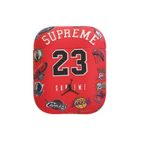 best website 8fef8 7cc48 Supreme x Jordan x NBA Teams Protective Apple Airpod Case - Red