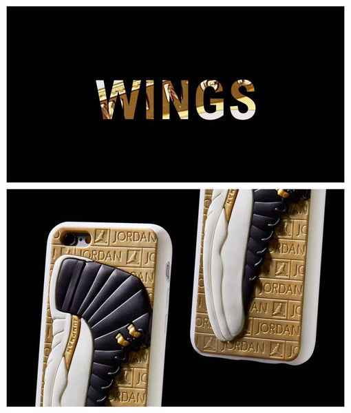 "Jordan 12's ""Wings"" Case"