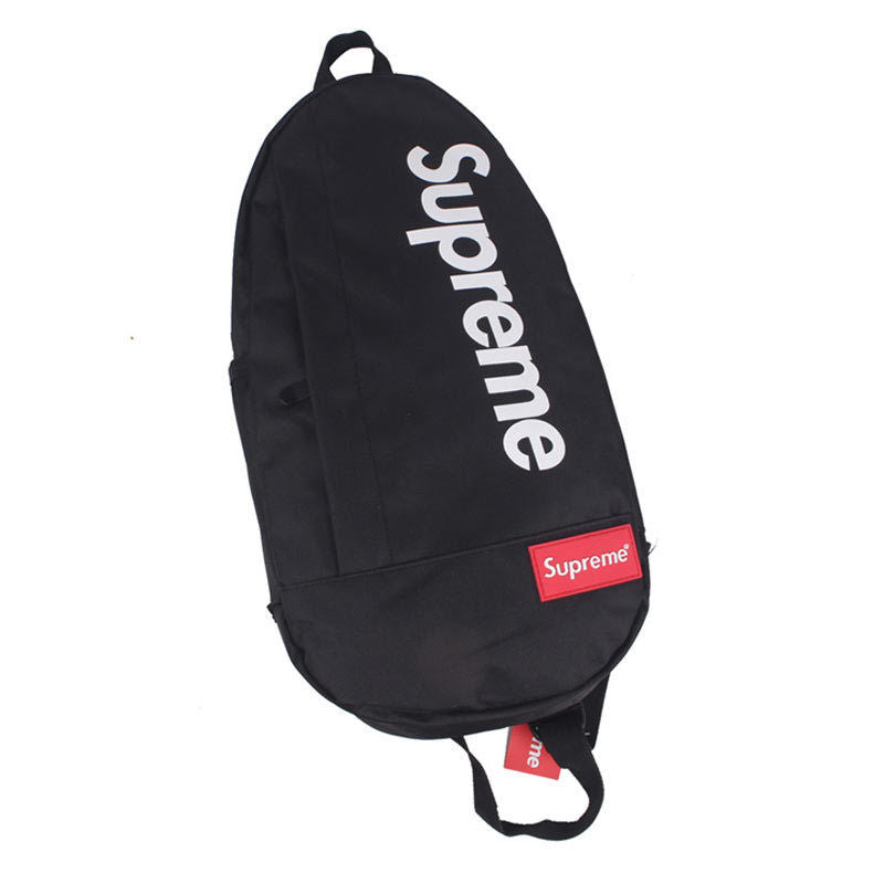 SLING MESSENGER BACKPACK (BLACK)