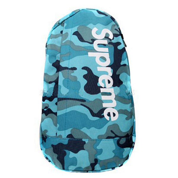 SLING MESSENGER BACKPACK (SKYBLUE CAMO)