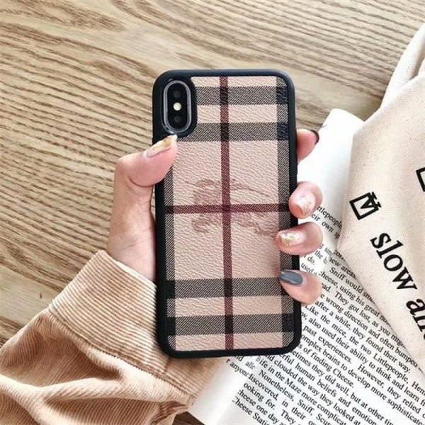 Burberry Dark Monogram Case
