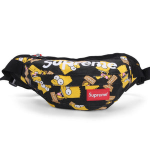 Supreme Bart Fanny Pack (Black)