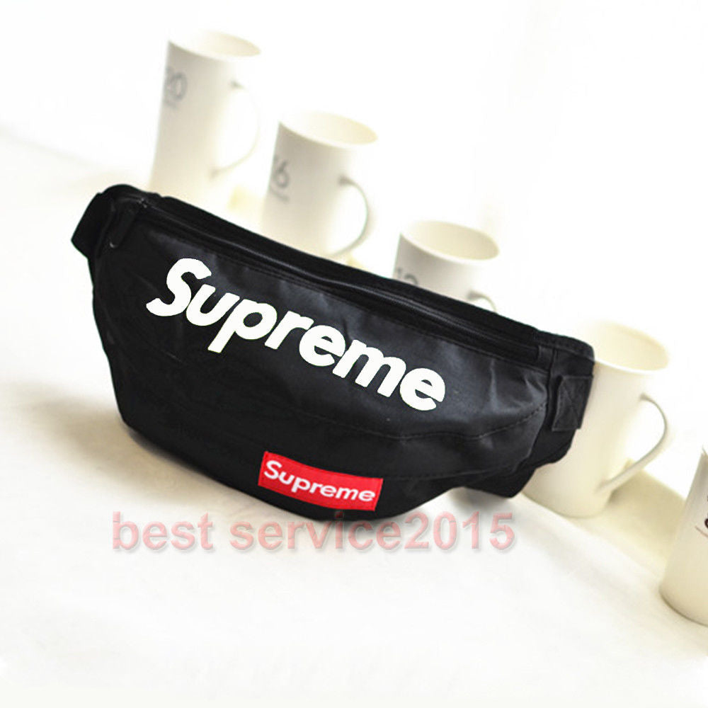 Supreme Black Fanny Pack