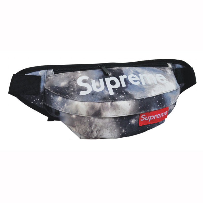 Supreme Gray Stars Fanny Pack