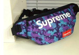 Supreme Purple & Teal Camo Fanny Pack
