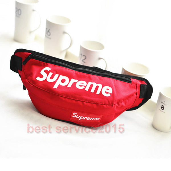 Supreme Red Fanny Pack