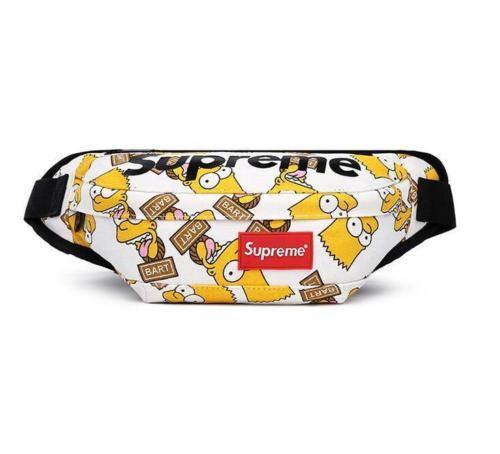 Supreme Bart (White) Fanny Pack