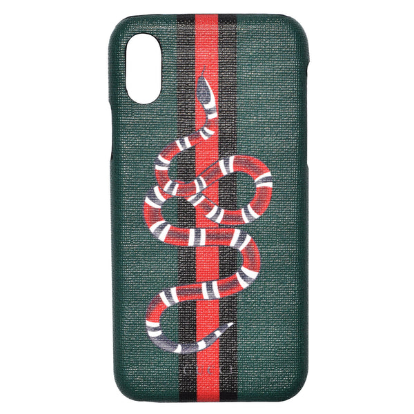 SNAKE AND STRIPES (GREEN CASE)