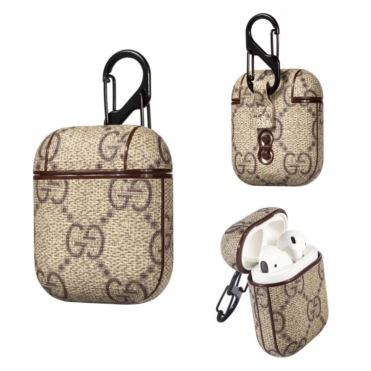 Gucci Brown Monogram Apple Airpods Case Elevatedcases