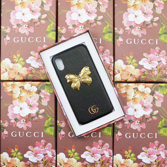 GOLD BUTTERFLY (BLACK)