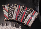 Abstract GG Monogram Trunk Case W/ Earphone Holder
