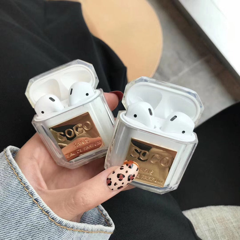 Coco Chanel inspired AirPods Case - Apple Specific