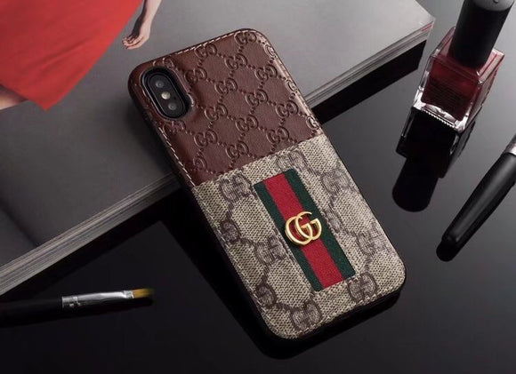 Double Monogram (Brown)