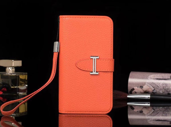 Orange Wallet/Card Holder Case