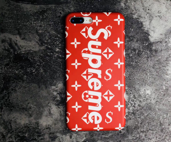SUPREME MONOGRAM (RED)