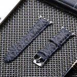 Michael Kors Monogram Apple Watch Band - Black