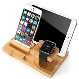 3 In 1 Bamboo Charging Dock