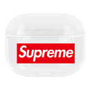Supreme Box Logo TPU Protective Apple Airpods Pro Case