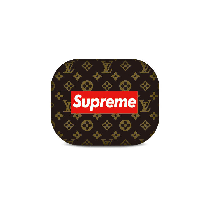 Supreme Monogram Black Airpods Pro Case