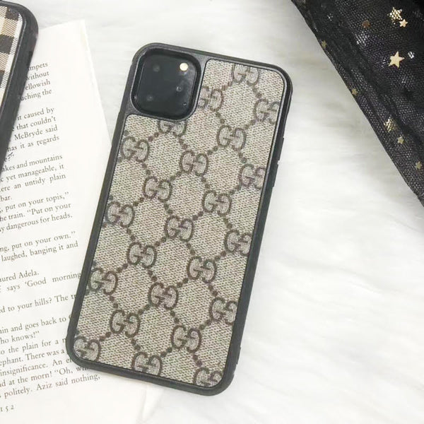 Custom Fashion Inspired Designer Protective iPhone Case - GG