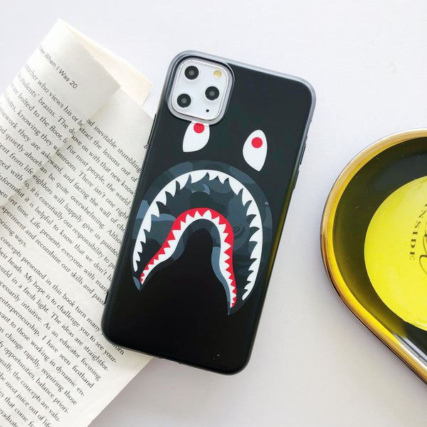 Shark Mouth Protective Iphone Case (Various Models)