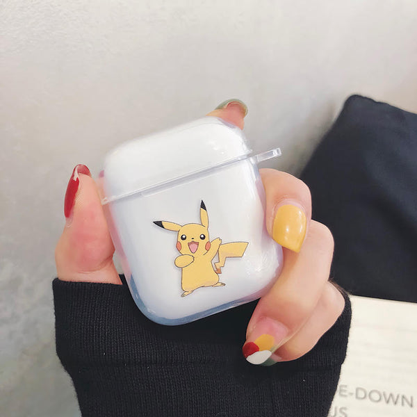 Pikachu Protective Apple Airpod Gen 1/2 Soft TPU Case