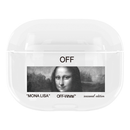Off-White Mona Lisa TPU Protective Apple Airpods Pro Case
