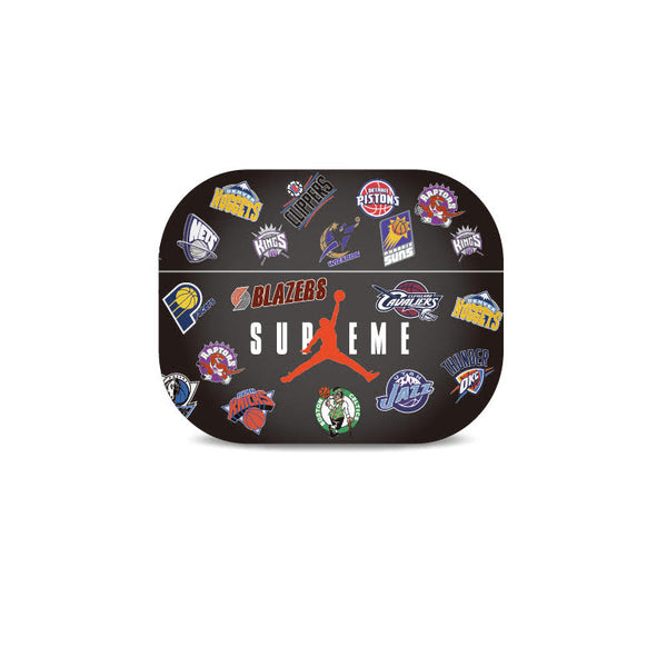 Supreme X Nba Black Airpods Pro Case Elevatedcases
