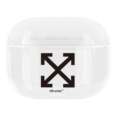 OFF WHITE TPU Protective Apple Airpods Pro Case