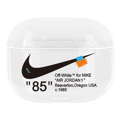 Nike x Off White TPU Protective Apple Airpods Pro Case