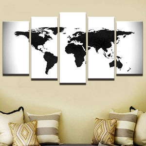 World map canvas art world map wall art large wall art white and world map canvas art world map wall art large wall art white and gumiabroncs Choice Image