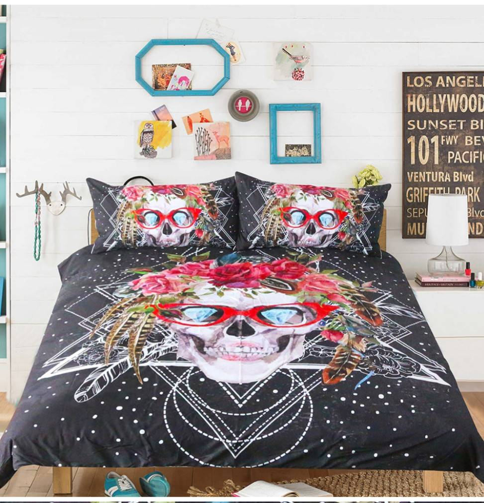 from pillow linen set home for item bedding cotton size adults king flamingo bed queen twin sets printed cover duvet adult case in