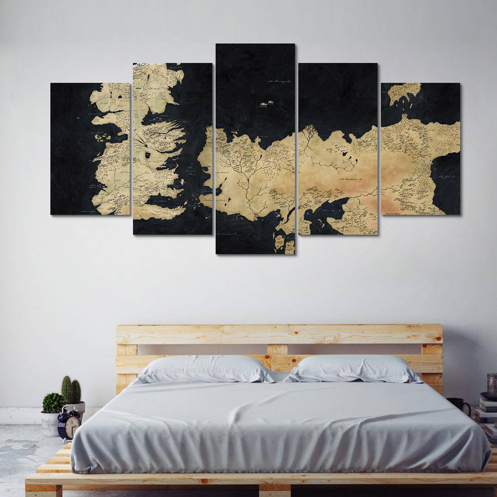 Game of Thrones Map, Map Game of Thrones, Kingdoms Map, Game Of ...