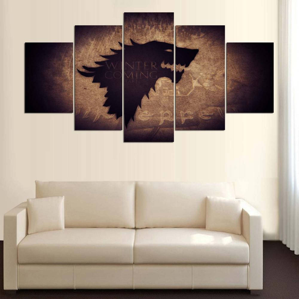 Game of thrones Wall Art, Game of Thrones Canvas Art, Game of ...