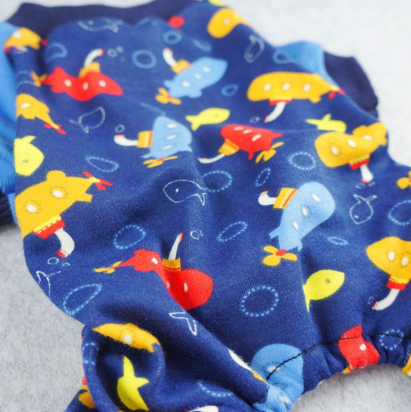Adorable Submarine Pajamas