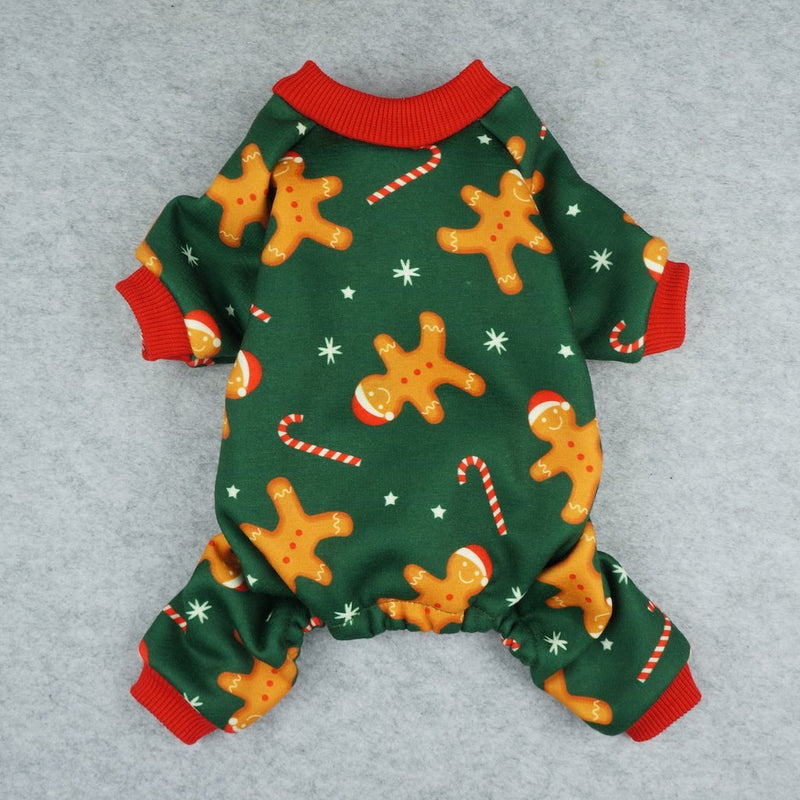 Gingerbread Man Christmas Pajamas