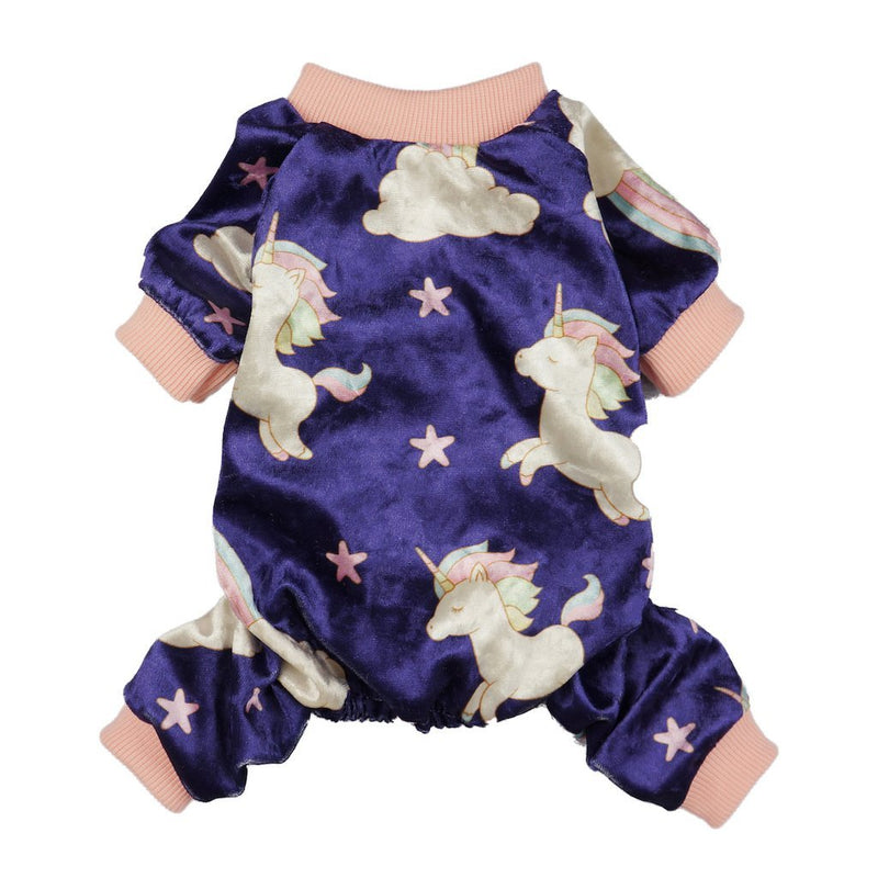 Unicorn Velvet Pajamas